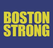 Boston Strong by Paducah