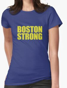 Boston Strong Womens Fitted T-Shirt