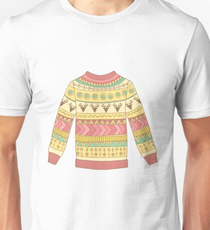 Cute cozy sweater Unisex T-Shirt