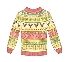 Cute cozy sweater Photographic Print