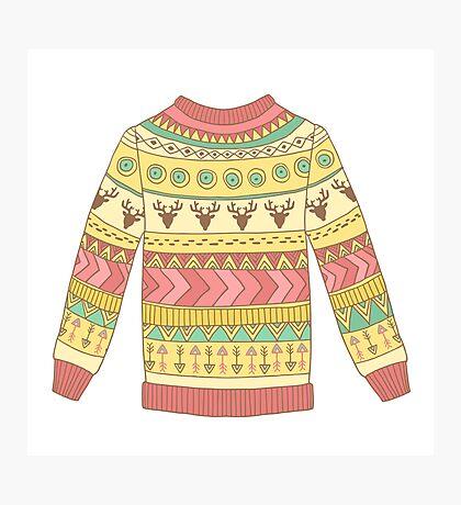 Cute cozy sweater Photographic Print