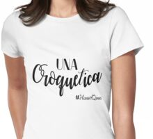 Una Croquetica Womens Fitted T-Shirt