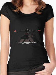 Reaper 2 Hands 2 Guns  Women's Fitted Scoop T-Shirt