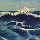 TIR-FA-Japan Print - Wave - C - Hatō zu - Uehara, Konen by imageresource