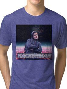 Hacker man Tri-blend T-Shirt