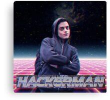 Hacker man Canvas Print