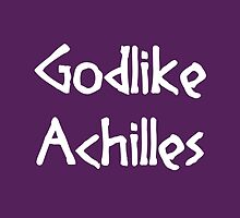 Godlike Achilles (White) by supalurve