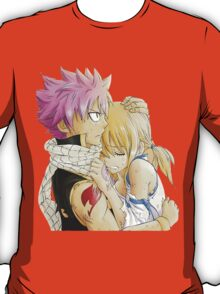 Natsu and Lucy Fairy Tail T-Shirt