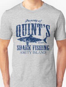 Retro Quints Shark Fishing Unisex T-Shirt