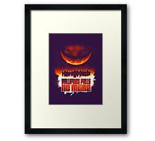 Gallifrey Falls No More (Gradient) Framed Print
