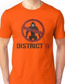 District 9 sign Unisex T-Shirt