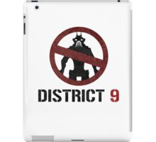 District 9 sign iPad Case/Skin