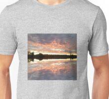 Sunset 700 mirror / reflection Unisex T-Shirt