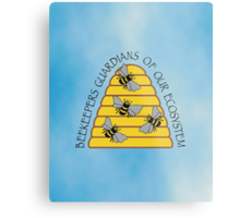 Beekeepers, Guardians of our Ecosystem Metal Print