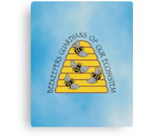 Beekeepers, Guardians of our Ecosystem Canvas Print