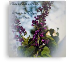 The Beauty and Magic of Life Metal Print