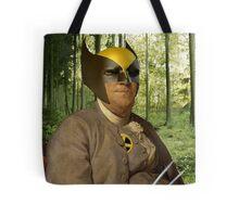 Wolverine + Ben Franklin Mash Up Tote Bag