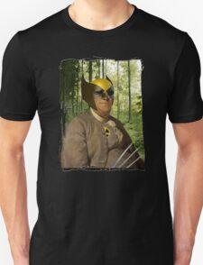 Wolverine + Ben Franklin Mash Up T-Shirt