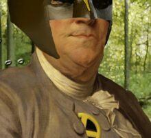 Wolverine + Ben Franklin Mash Up Sticker