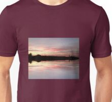 Sunset 724 Red Mirror Unisex T-Shirt