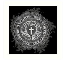 Luther Rose Christian Luther Seal Art Print