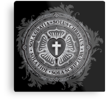 Luther Rose Christian Luther Seal Metal Print