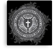 Luther Rose Christian Luther Seal Canvas Print