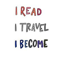 Read. Travel. Become Photographic Print