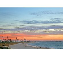 Port Beach Fremantle Western Australia  Photographic Print