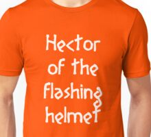 Hector (White) Unisex T-Shirt