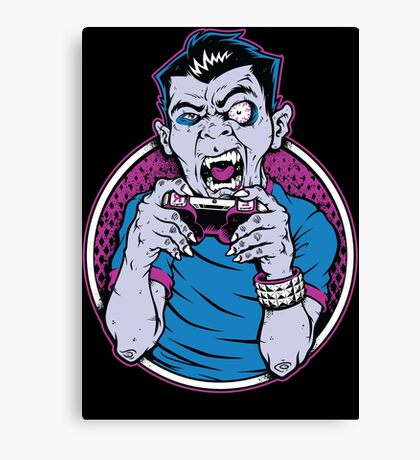 Count Gamer Canvas Print