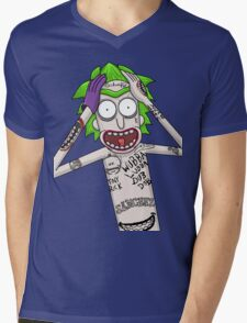 I'm just going to wubba lubba dub dub you real bad Mens V-Neck T-Shirt