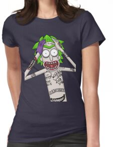 I'm just going to wubba lubba dub dub you real bad Womens Fitted T-Shirt