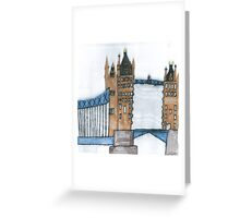 Stephen Tower Bridge Greeting Card