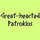 Patroklos (Black) by supalurve