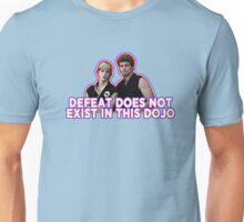 Defeat? Not in this Dojo. Unisex T-Shirt
