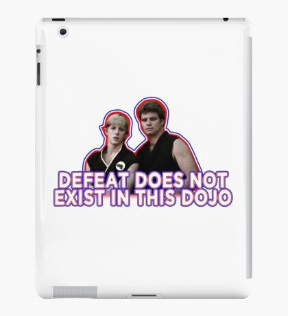 Defeat? Not in this Dojo. iPad Case/Skin