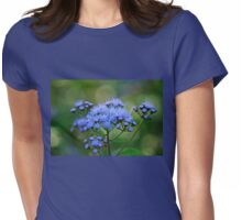 Ageratum Blue Womens Fitted T-Shirt