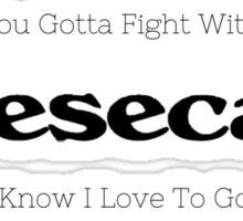 New Cheescake Sticker