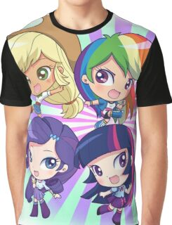 My Little Pony Human Graphic T-Shirt