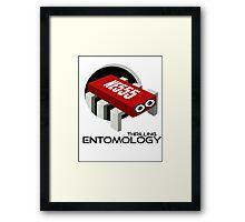 THRILLING ENTOMOLOGY Framed Print