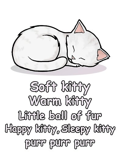 Soft Kitty by cattocc