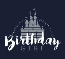 Birthday Girl Dreams Kids Tee