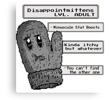 Disappointmittens Canvas Print