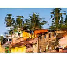Gokarna reflective, India Photographic Print