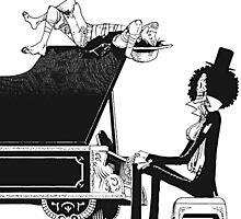 Piano by AkumaKuma