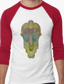 Hamsa/Protection Men's Baseball ¾ T-Shirt