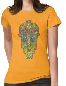 Hamsa/Protection Womens Fitted T-Shirt