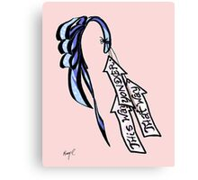 Alice's Bow and Arrows Canvas Print