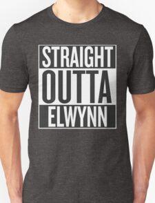 STRAIGHT OUTTA ELWYNN Unisex T-Shirt